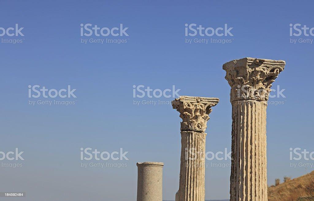Corinthian Column Head royalty-free stock photo