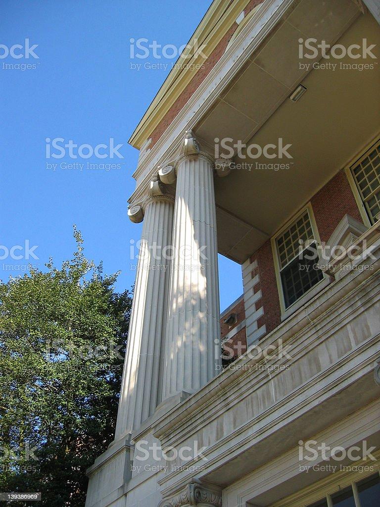 Corinthian Columns 1 stock photo