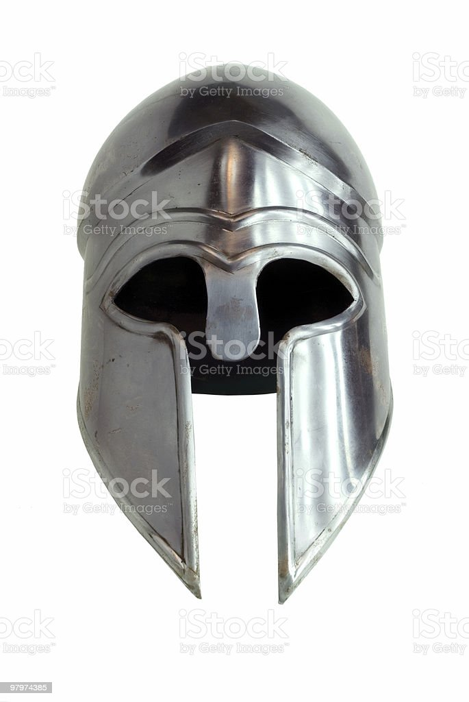 Corinthian helmet stock photo