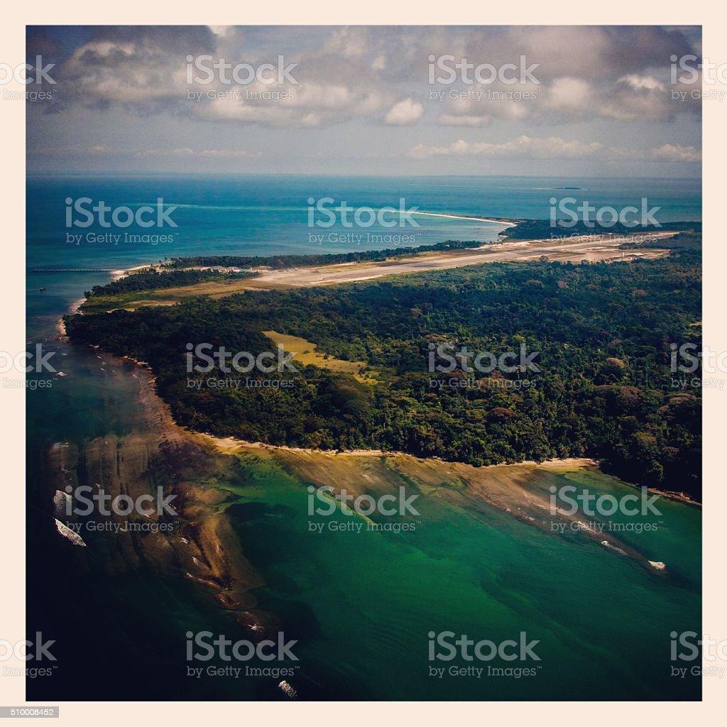Corisco´s Island stock photo