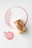 Cork and red wine stain. Similar pictures from my portfolio: