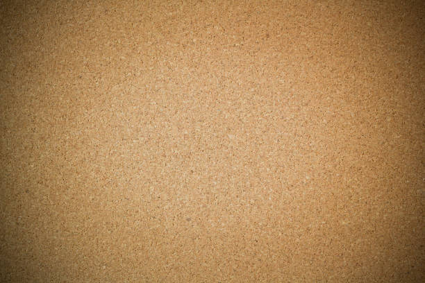 cork board background and texture with dark vignette - bulletin board stock pictures, royalty-free photos & images