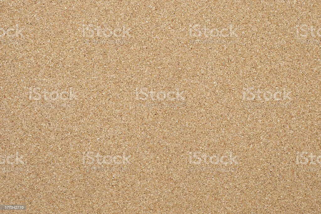 Cork board background texture stock photo