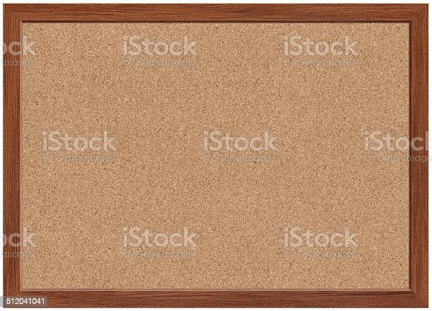 Cork Bulletin Board Stock Photo - Download Image Now