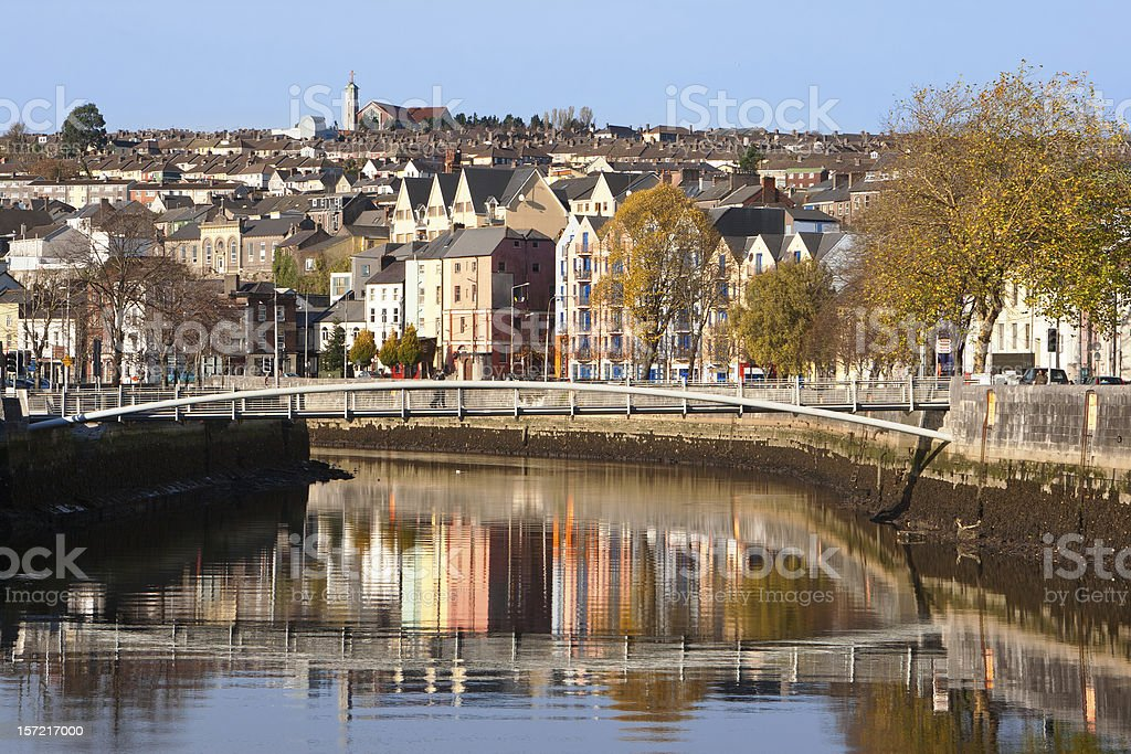 Cork City. Ireland stock photo