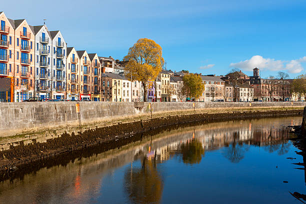 Cork city, Ireland stock photo