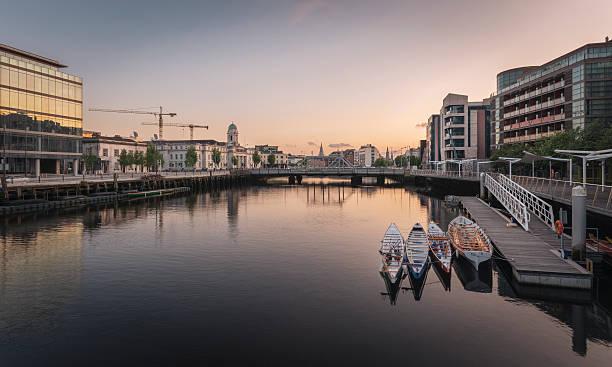Cork City, Ireland. stock photo