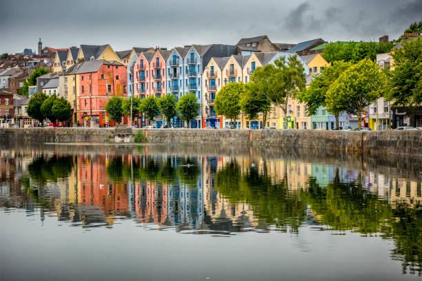 Cork Cityscape stock photo