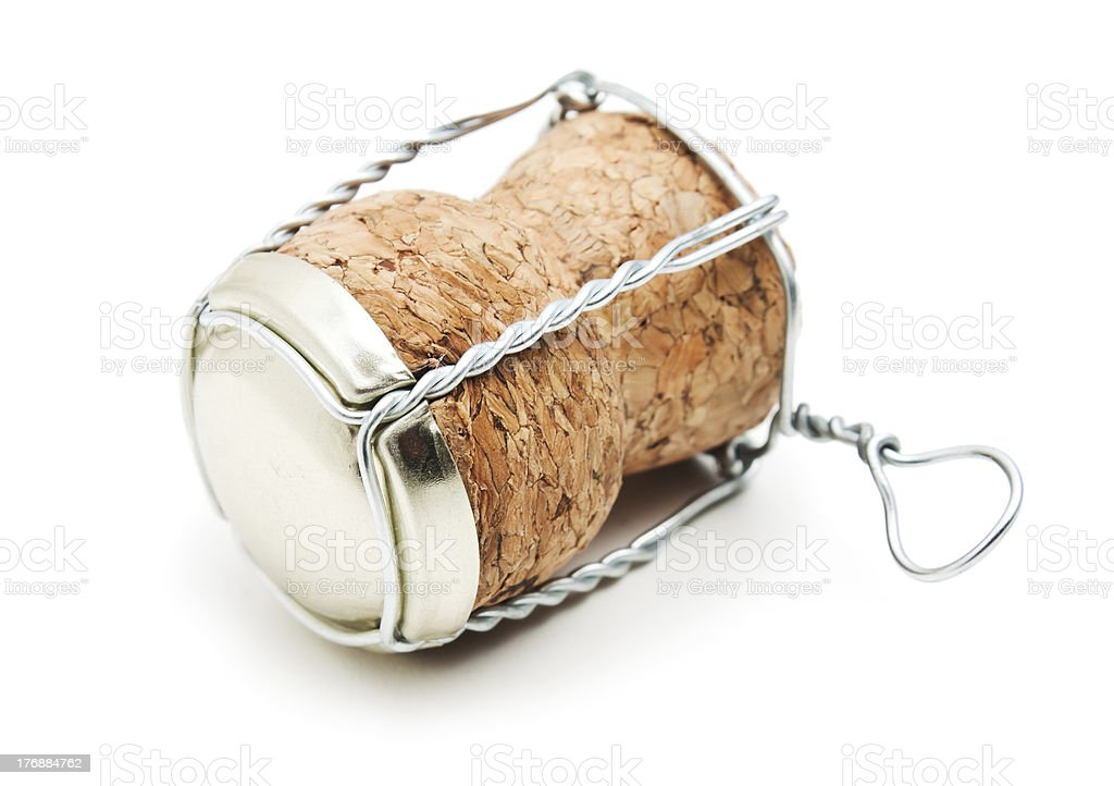cork from champagne royalty-free stock photo