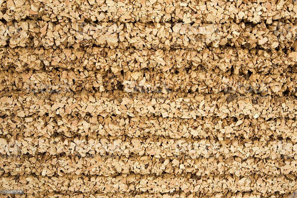 Cork panels royalty-free stock photo