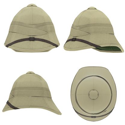istock Cork Pith Helmet 961384784
