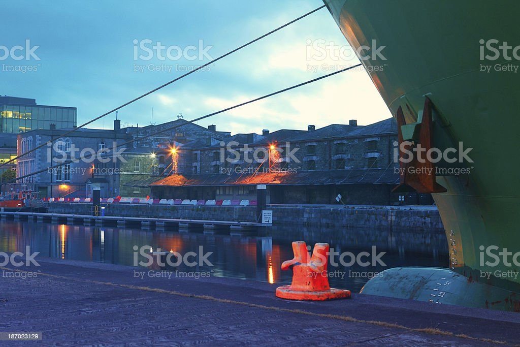 Cork Port royalty-free stock photo