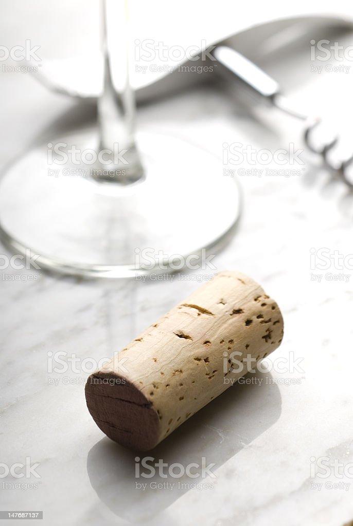 Corcho de vino - foto de stock