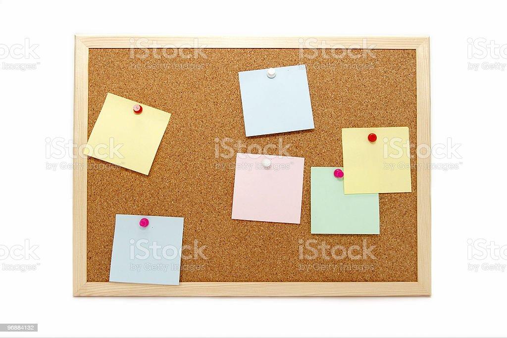 Corkboard Lizenzfreies stock-foto