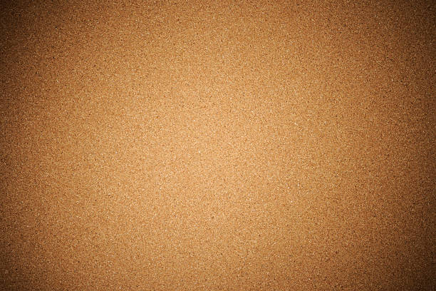 corkboard texture background with spotlight - bulletin board stock pictures, royalty-free photos & images
