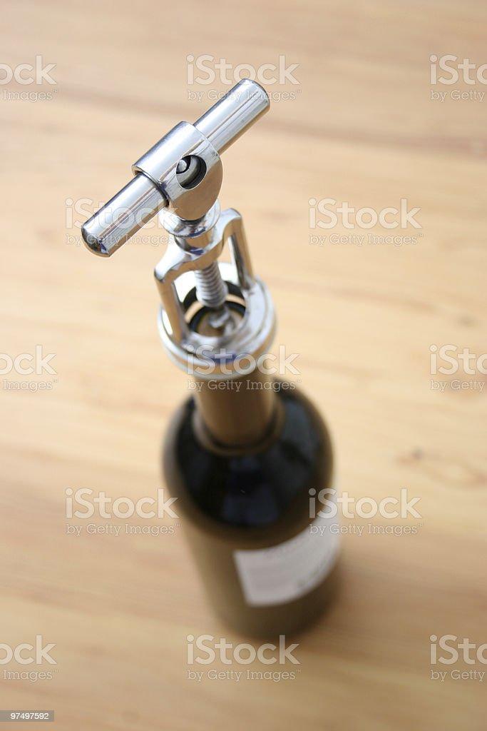 Corkscrew royalty-free stock photo