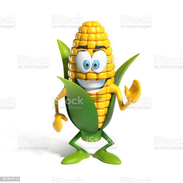 Corn cartoon character 3d rendering isolated illustration picture id872840114?b=1&k=6&m=872840114&s=612x612&h=kfm7gvqqetrprbdq3f y9pxvovdpstalqzzeaqiykvi=