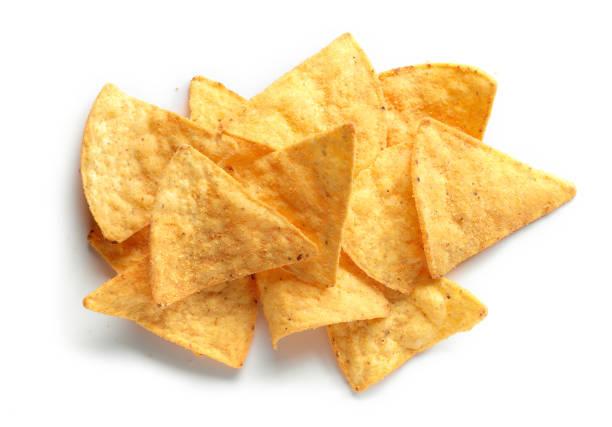 nachos de chips de milho - junk food - fotografias e filmes do acervo
