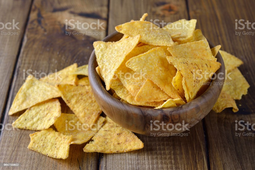 Corn chips royalty-free stock photo