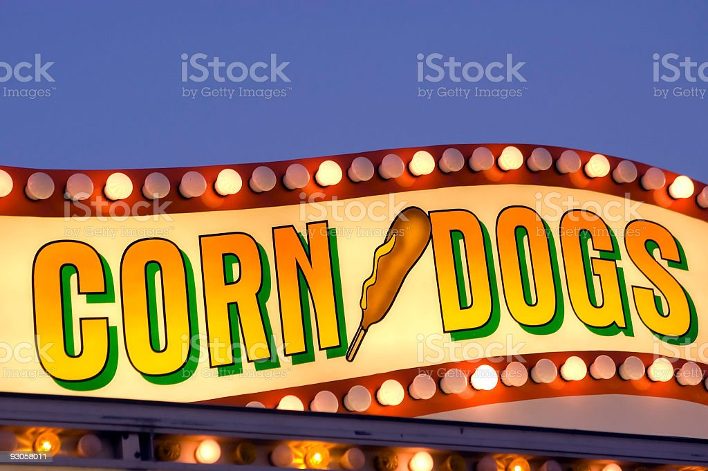 Corn Dogs royalty-free stock photo