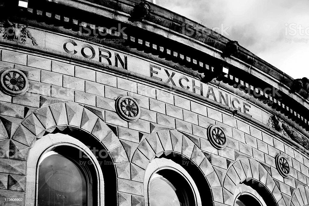 Corn Exchange building - Leeds royalty-free stock photo