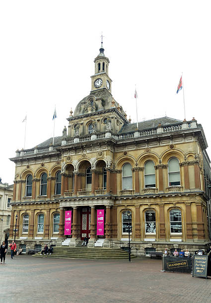 corn exchange, ipswitch, suffolk - ipswich town stock-fotos und bilder