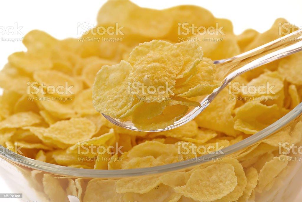 Cornflakes - Foto stock royalty-free di Alimentazione non salutare