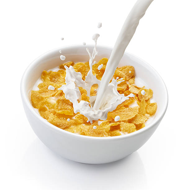 Bowl Of Cornflakes And Milk Top 60 Corn Fla...