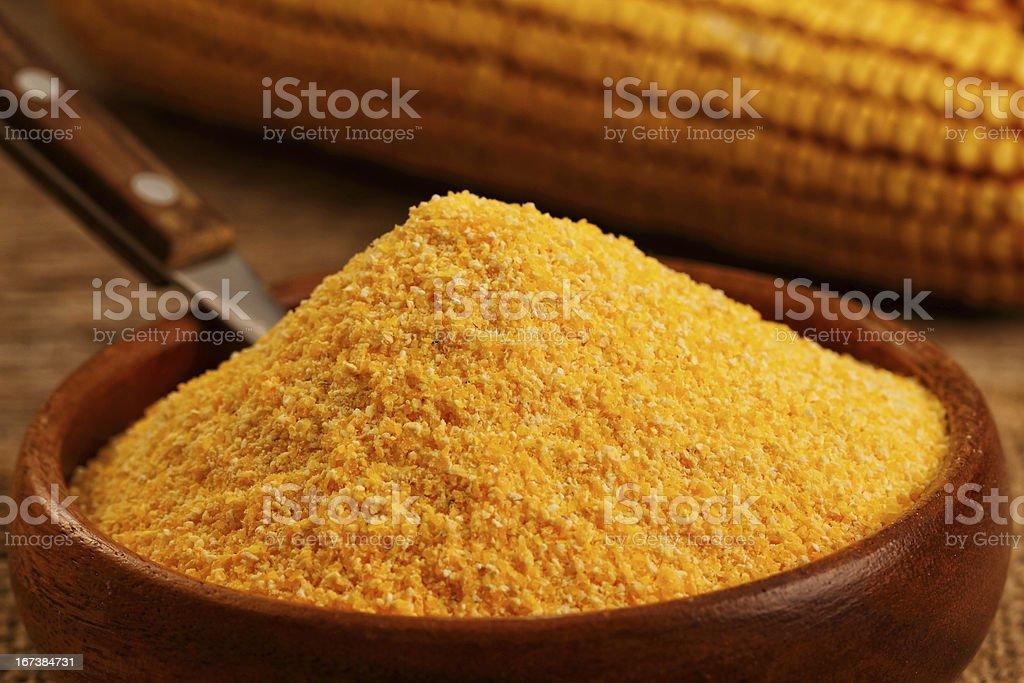 Corn flour royalty-free stock photo