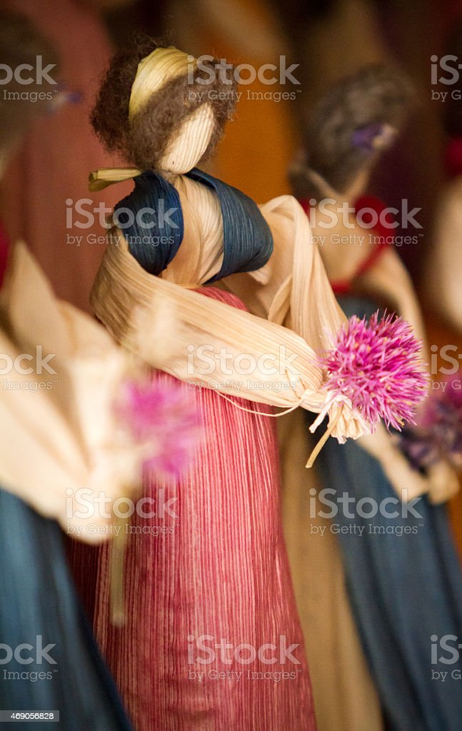 Milho Boneca de Palha de milho - foto de acervo