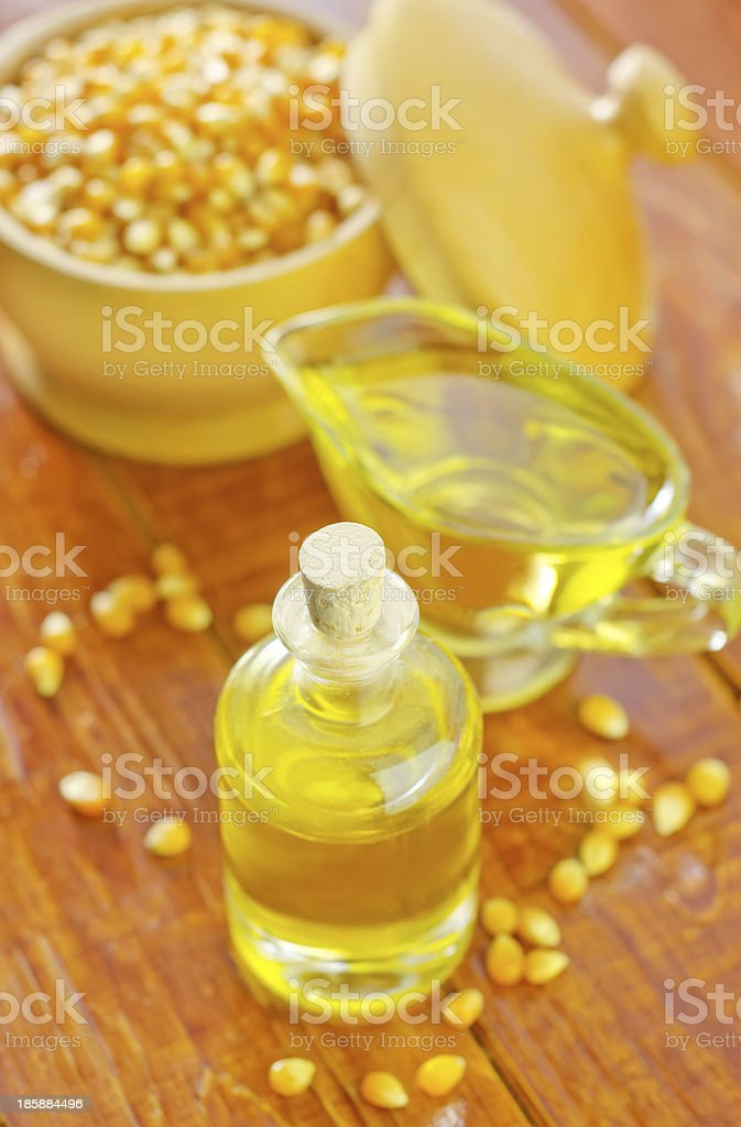 corn oil royalty-free stock photo