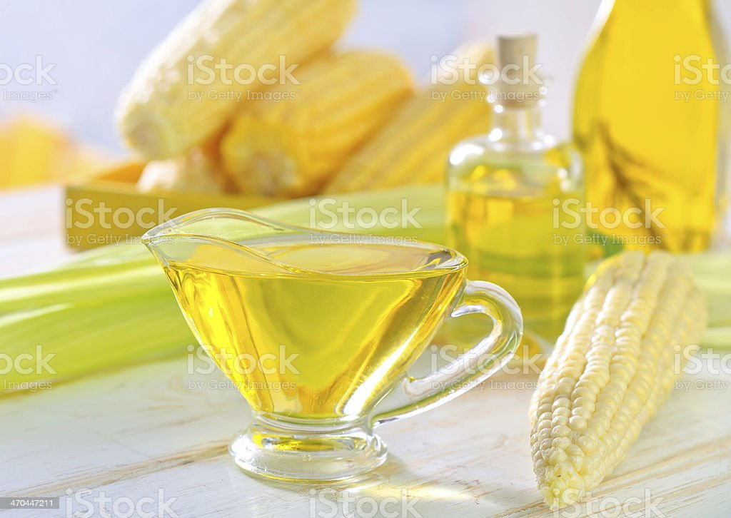 corn oil royalty-free stock photo
