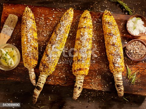 BBQ Corn on the cob-Photographed on a Hasselblad H3D11-39 megapixel Camera System