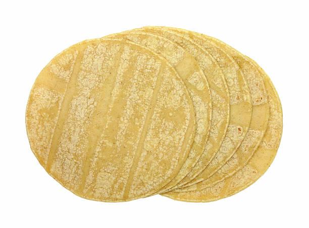 corn tortillas - tortilla stock photos and pictures