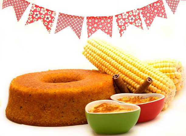 Corn treats stock photo