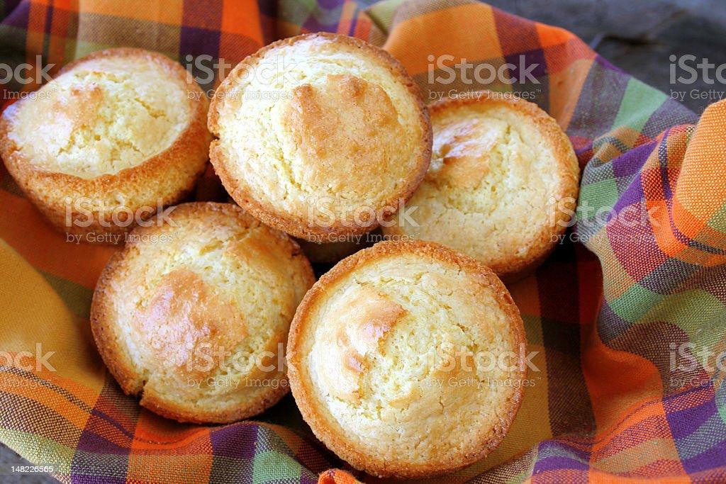 Cornbread Muffins royalty-free stock photo