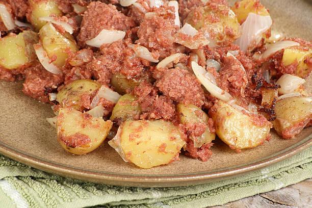 Corned Beef Hash stock photo