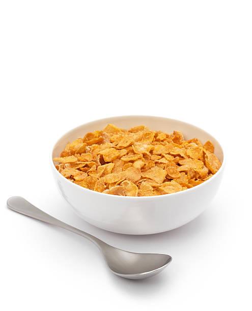 corned flakes (copos de maíz - corn flakes fotografías e imágenes de stock