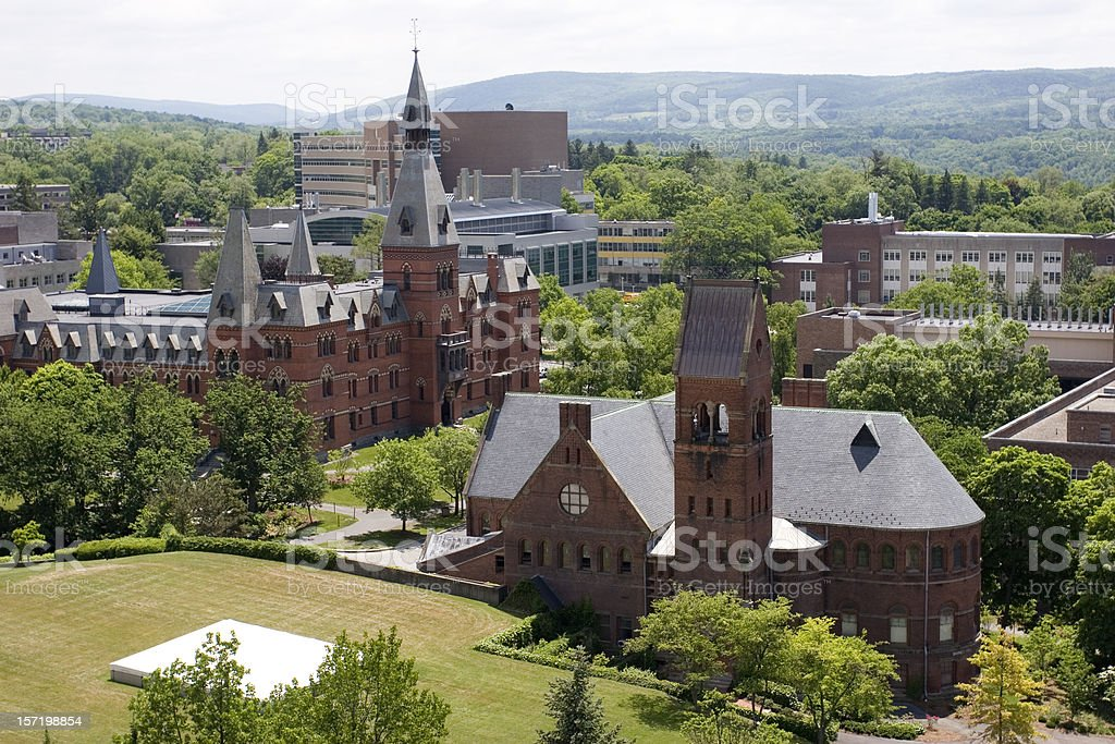 Cornell University campus stock photo