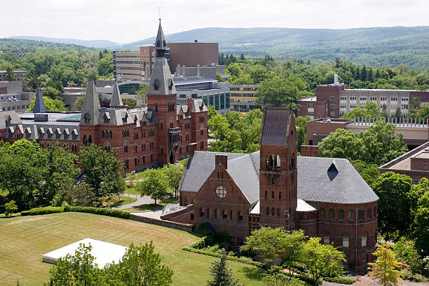 Cornell University campus  ivy league university stock pictures, royalty-free photos & images