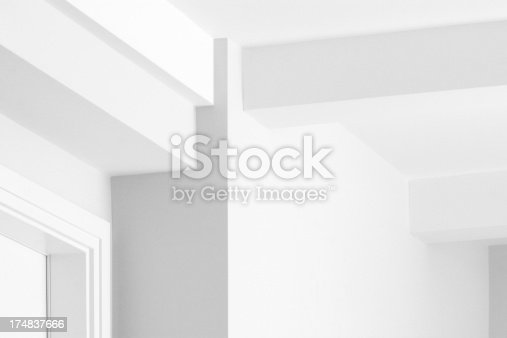 168248826 istock photo Corner Ceiling Wall Doorframe Drywall Decor 174837666