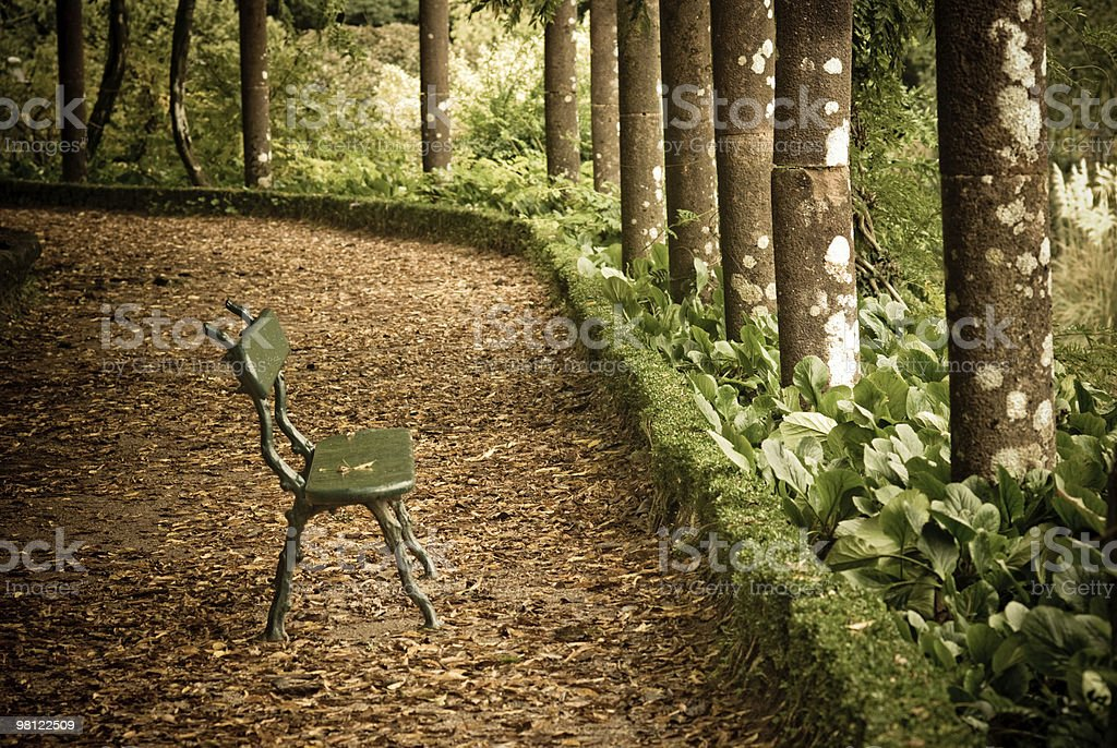 corner in the park royalty-free stock photo