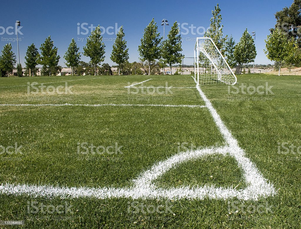 Corner Kick royalty-free stock photo