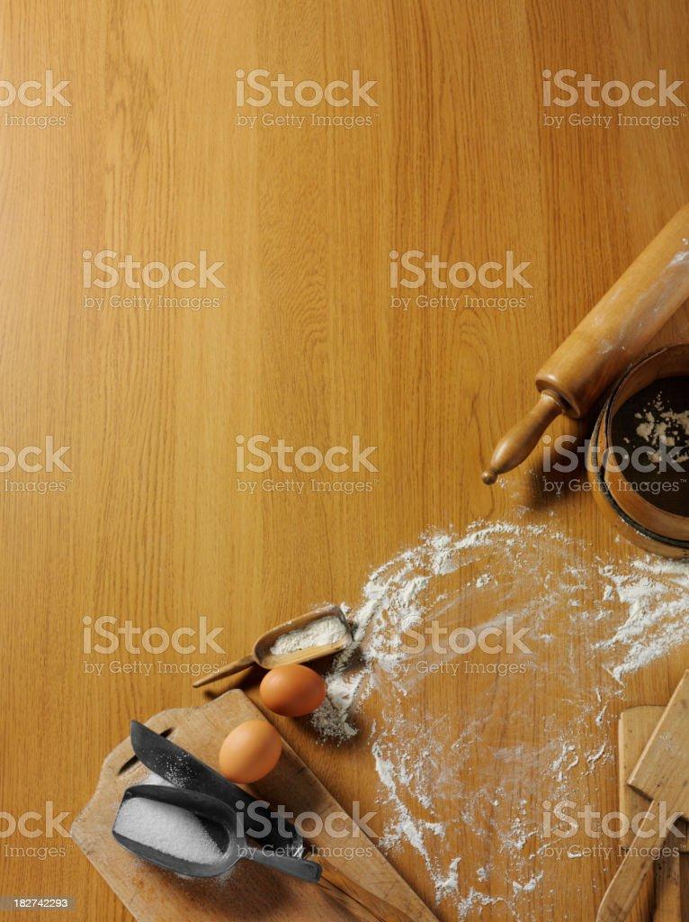 Corner of Baking Equipment royalty-free stock photo