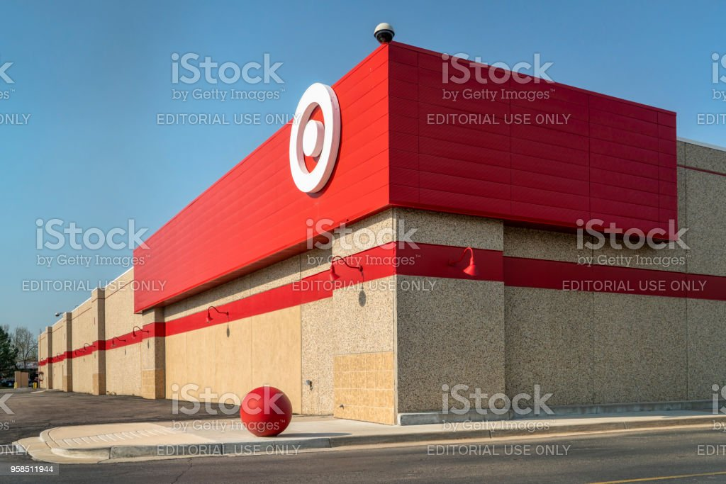 Corner of Target store stock photo