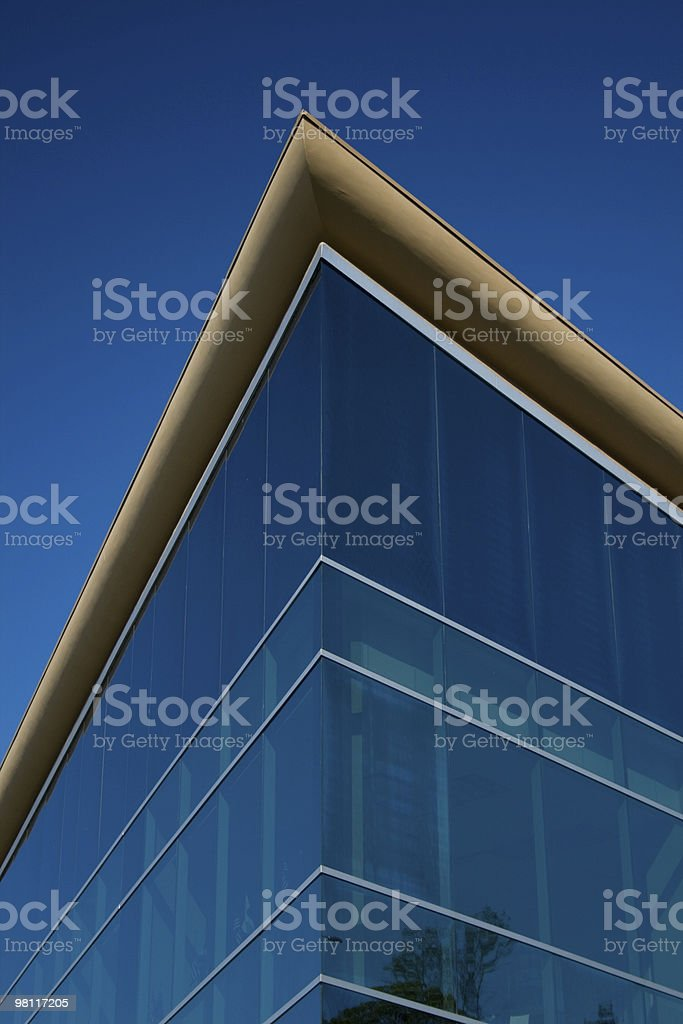 Corner Office royalty-free stock photo