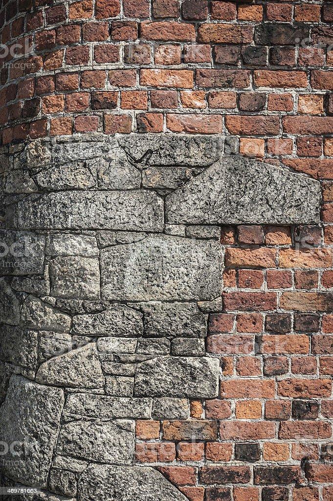 Corner Stones stock photo