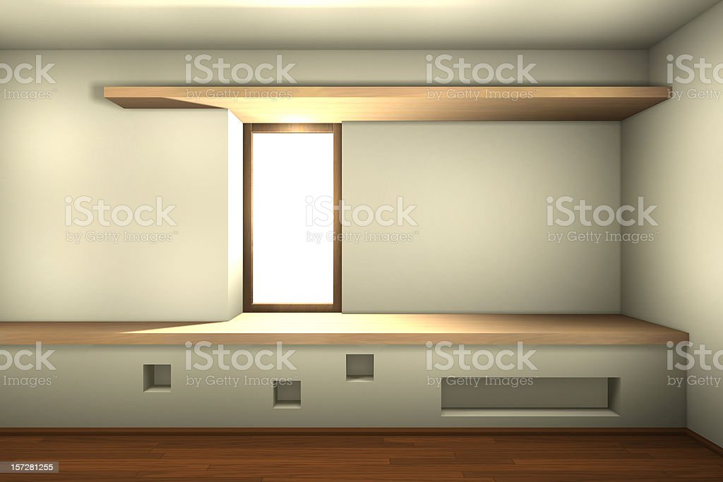 corner window royalty-free stock photo