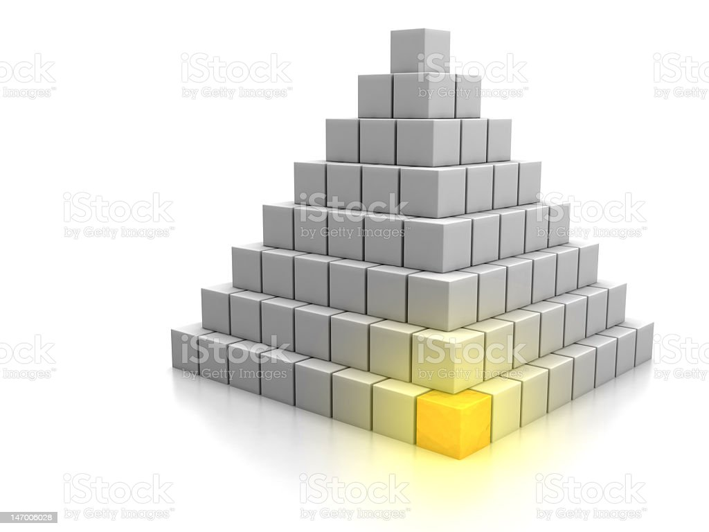 Cornerstone Concept stock photo