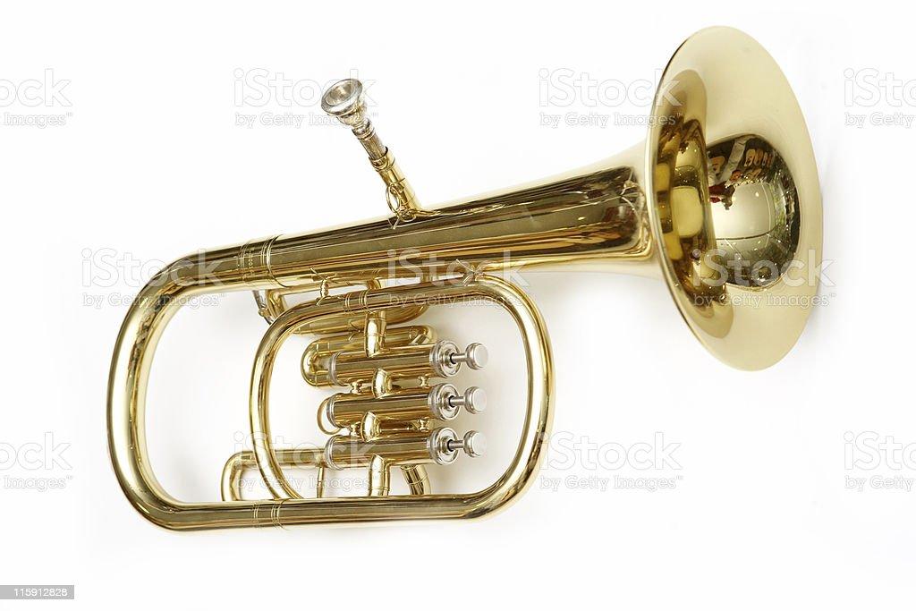 cornet royalty-free stock photo